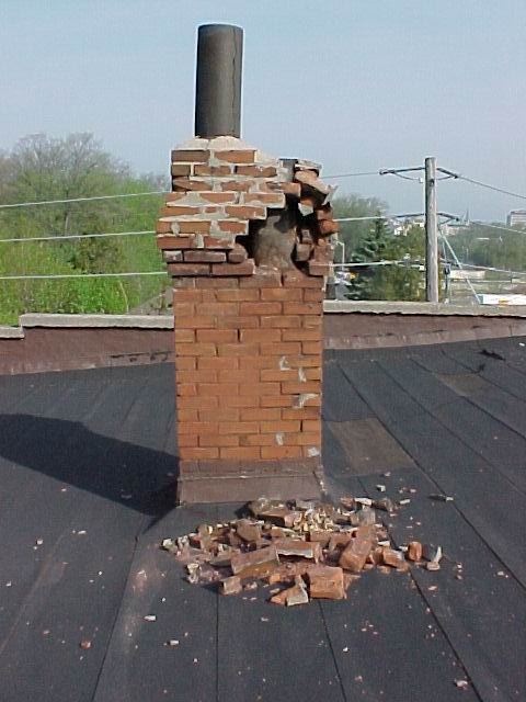 The Chimney Swift Ltd Damaged Chimney