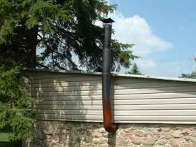 illegal stovepipe chimney