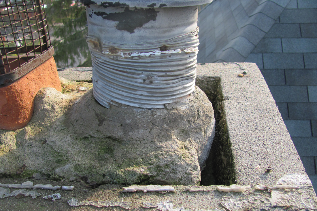 Aluminum chimney liner compliance issue