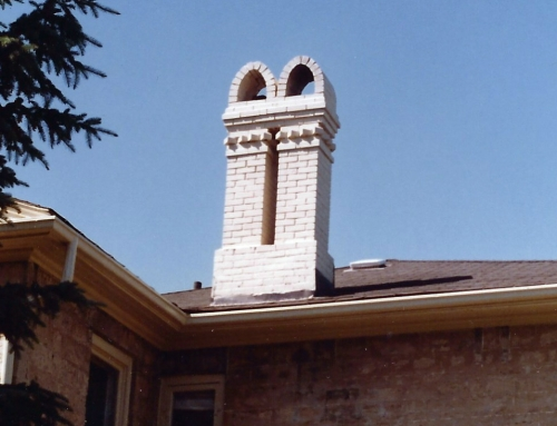Chimney restoration going back a few years