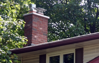 Furnace and fireplace chimney restored to code
